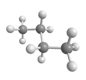 ブタンの構造