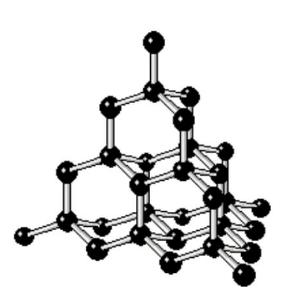 共有結合の結晶(ダイヤモンド)