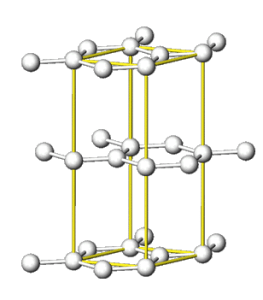 共有結合の結晶(黒鉛)