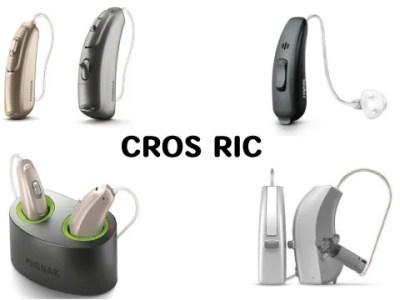 クロス補聴器 ric
