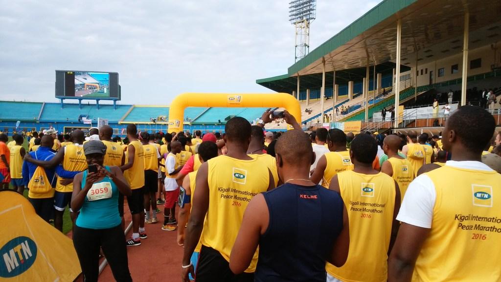 kigali marathon start