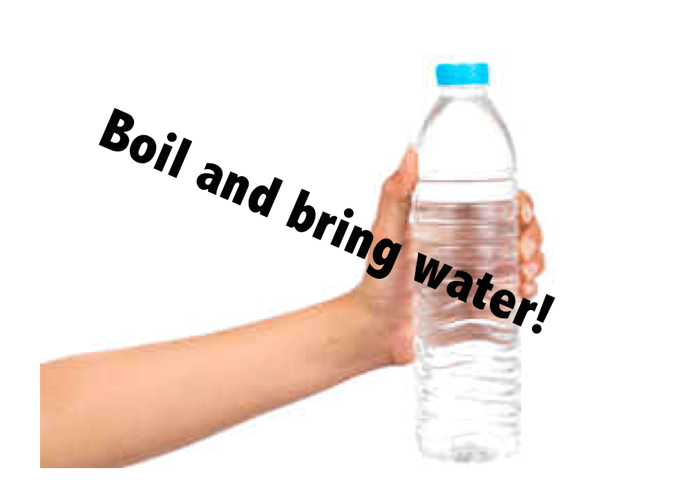 boil and bring water