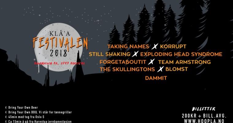 Råkkfolk griller Kristoffer fra Klå'a festivalen litt…
