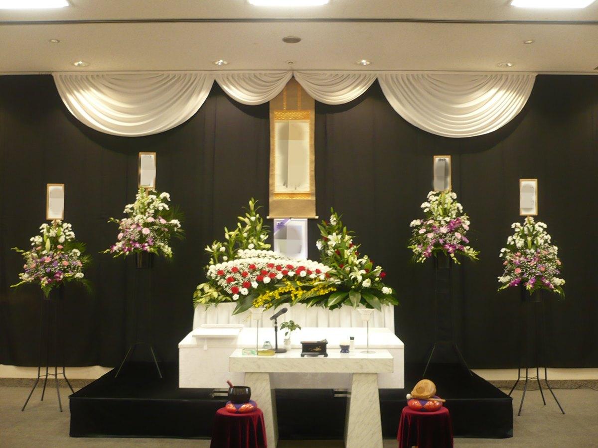 瓜破斎場 葬儀例4