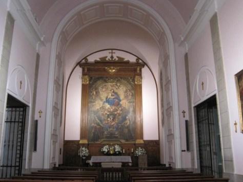 Francisco Ricci. Convento de El Cristo del Pardo