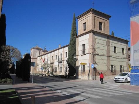 Hosteria del Estudiante en la calle de los Colegios.