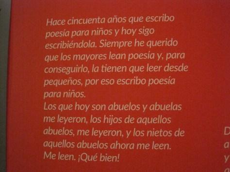 Gloria Fuertes, entrañable exposición