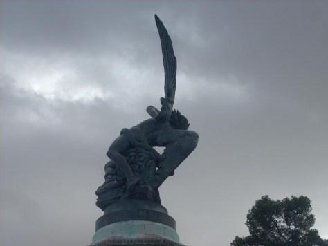 Esculturas del Parque del Retiro. El Ángel Caído