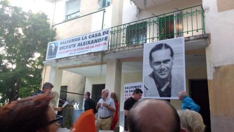 Vicente Aleixandre en Madrid