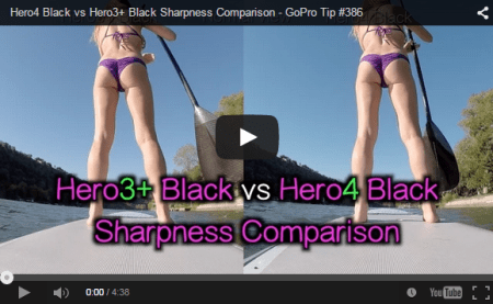 SONY HDR-AS100V買いました。GoPro HERO3/HERO4との画質比較