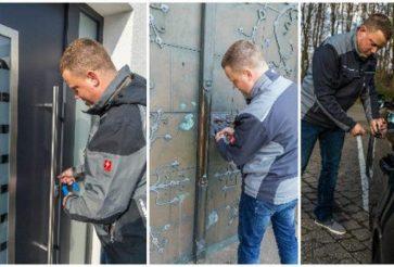 Top Schlüsseldienst Techniker öffnen Ihre Tür