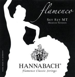 juego de cuerdas hannabach 827 tension media
