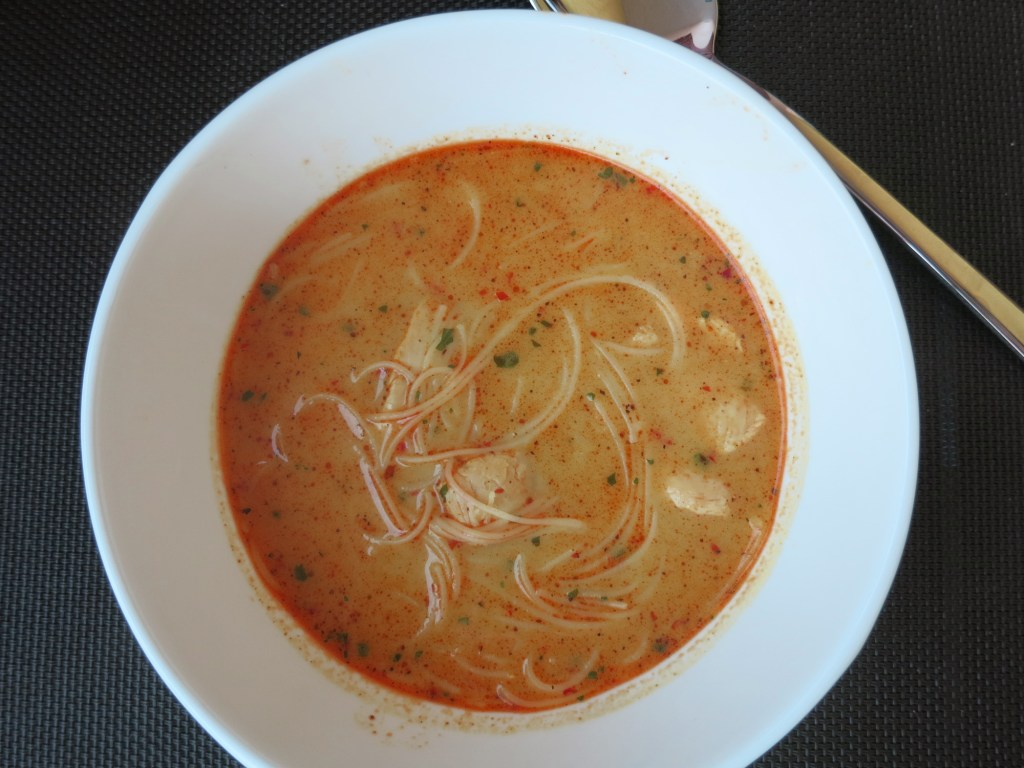 Curry Suppe mit Huhn