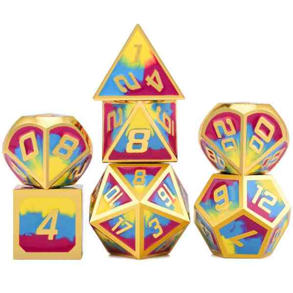 Metal Dice Summers Day