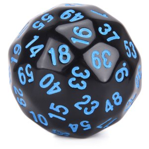 D60 Blue Numbers