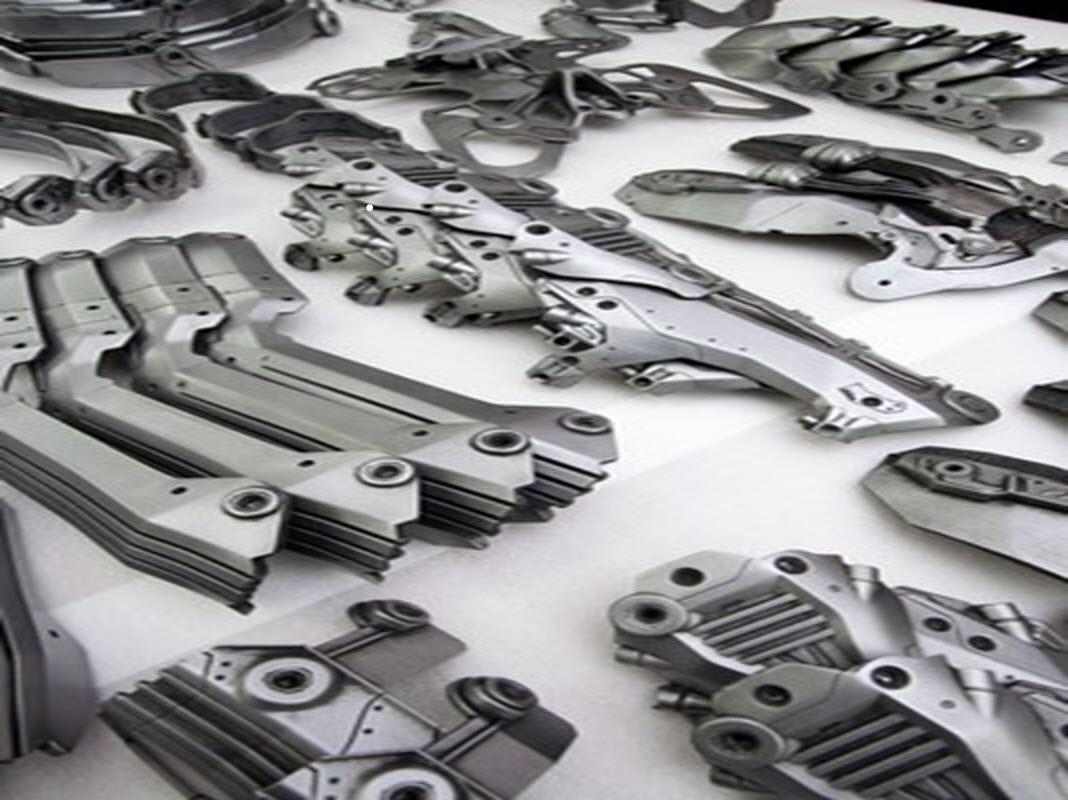 3D Printing Metal emner
