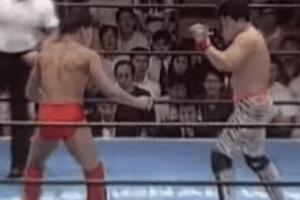 第9戦目 プロレス Uインター 1991.7.3 後楽園ホール VS安生洋二