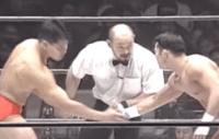 第34戦目  田村潔司vs垣原賢人  Uインター プロレス  1994年2月25日日本武道館