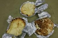 TTK(母)「チーズinナン」差し入れ頂きました。m(_ _)mお土産