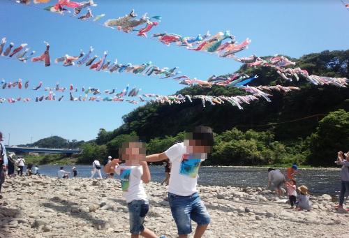 【2018年5月】子供を連れて「第31回泳げ鯉のぼり相模川」に行って思ったこと