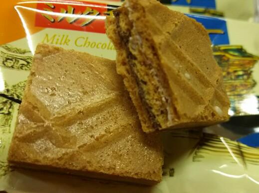 kI君お土産「日光ミルクチョコクッキー」