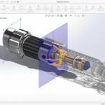 3D CAD Maskintegning 3