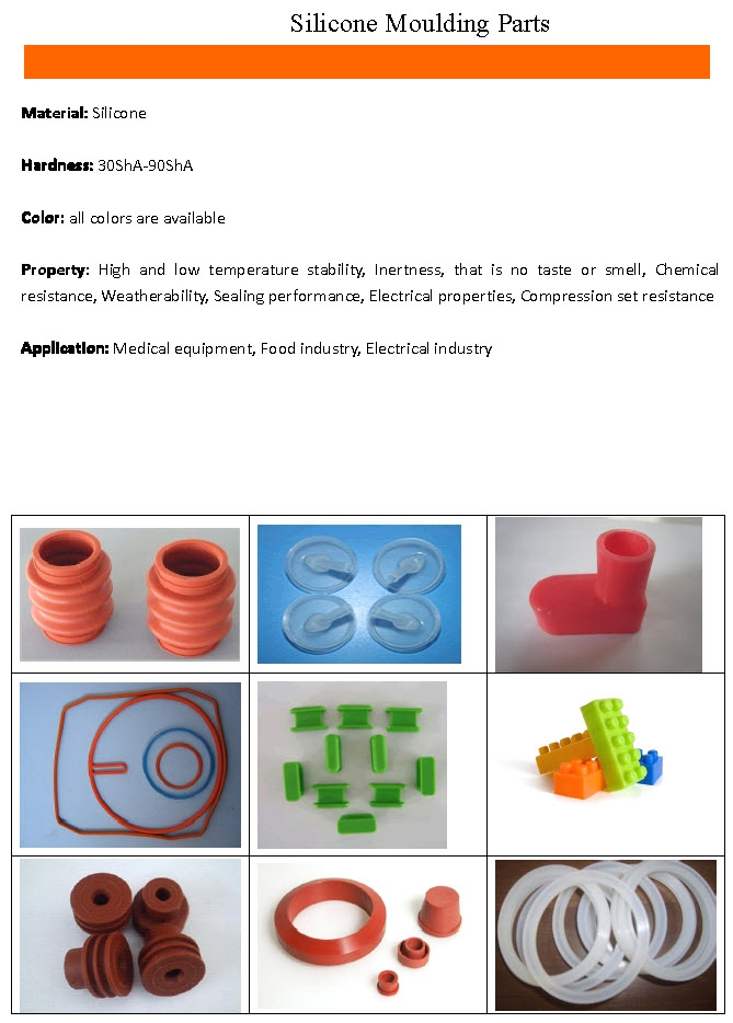 Silicone Moulding Parts