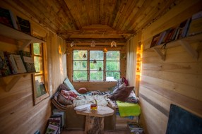 Bo i biblioteket - Tiny House