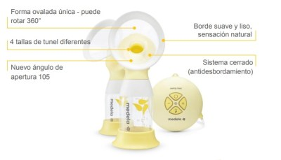 sacaleches medela swing flex
