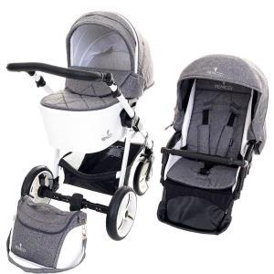 venicci pure denim grey carrito bebe