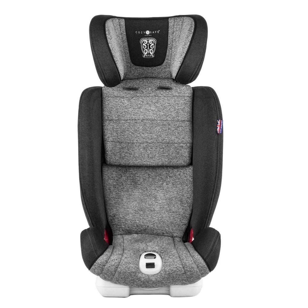 Una vez retirados los arneses la silla se queda como un elevador que va con el cinturón del coche hasta los 11 años