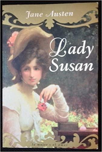 Portada del libro Lady Susan novela romántica escrita por Jane Austen.