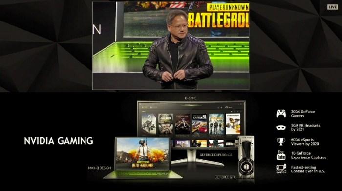 「NVIDIAにとって,ゲームは1000億ドル規模の市場があり,しかもそのビジネスは力強く成長し続けている」