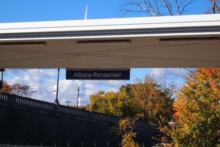 Albany-Rensslear駅