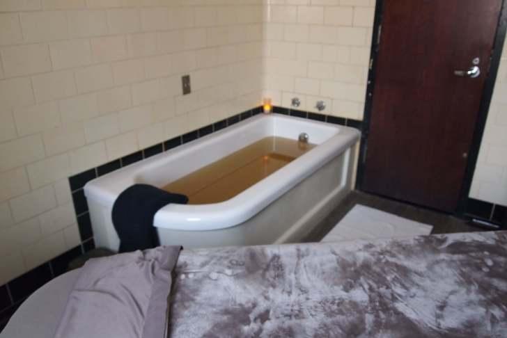 ルーズベルト・バス・アンド・スパの温泉つき貸切個室