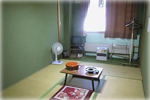 「グリーン温泉」の客室