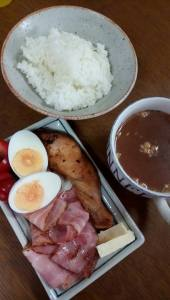 横浜パソコン教室の朝食