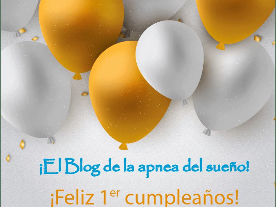 Primer cumpleaños en El Blog de la apnea del sueño.