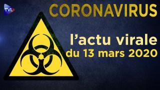 Coronavirus : l'actu virale du vendredi 13 mars 2020