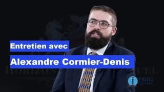 En 60 minutes : Entretien avec Alexandre Cormier-Denis