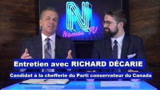 Entretien avec Richard Décarie : Candidat à la chefferie du PCC