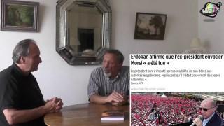 Israel Adam Shamir 4 Erdogan et menaces contre l'Iran   Avec Maria Poumier et Jean Michel Vernochet,