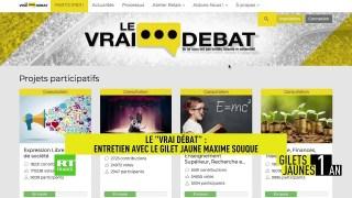 Le «Vrai débat» : rencontre avec le Gilet jaune Maxime Souque