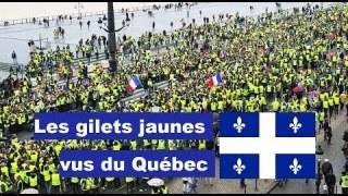 Les gilets jaunes vus du Québec