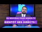Du nouveau pour Nomos-TV : Bientôt des directs !