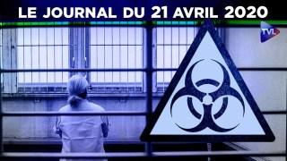 JT – Coronavirus : le point d'actualité – Journal du mardi 21 avril 2020