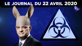 JT – Coronavirus : le point d'actualité – Journal du mercredi 22 avril 2020