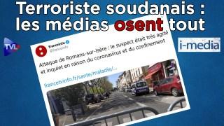 [Sommaire] I-Média n°293 - Terroriste soudanais : les médias osent tout !