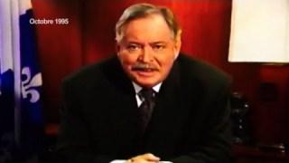 "Jacques Parizeau – 1995 Referendum ""YES"" victory speech (English version)"