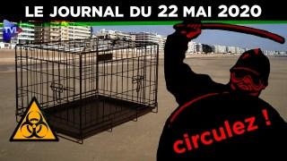 JT – Coronavirus : le point d'actualité – Journal du vendredi 22 mai 2020 avec Florian Philippot